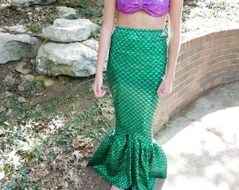 Mermaid Costume Etsy