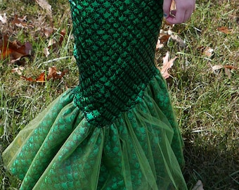 Mermaid Skirt;  Mermaid costume Multiple colors
