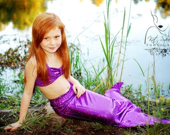 Mermaid Tail Fast Shipping! 11 colors; Swimmable and Walkable Mermaid Costume