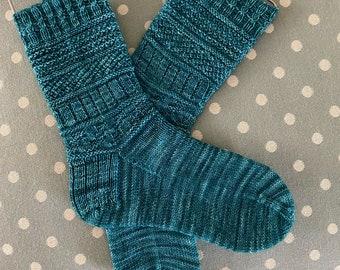 Row by Row Sample Socks