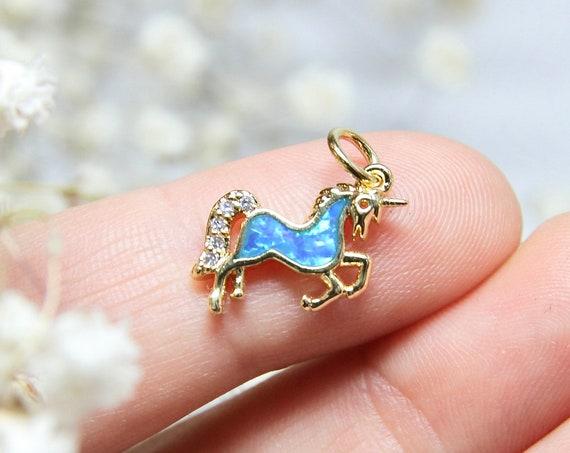 Unicorn Necklace | Unicorn Pendant | Unicorn Charm | Unicorn Gift Women | Unicorn Necklaces | Gold Unicorn | Unicorn Gift for Her