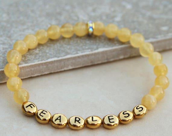 Fearless | Vision Bead Bracelet