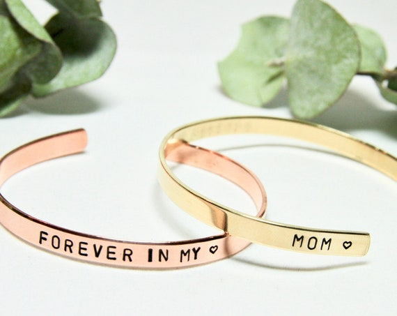 Personalized Memorial Bracelet | Loss of Mother | Mom Memorial Jewelry | Sorry for your loss | Remembrance | Sympathy Gift | In Memory of