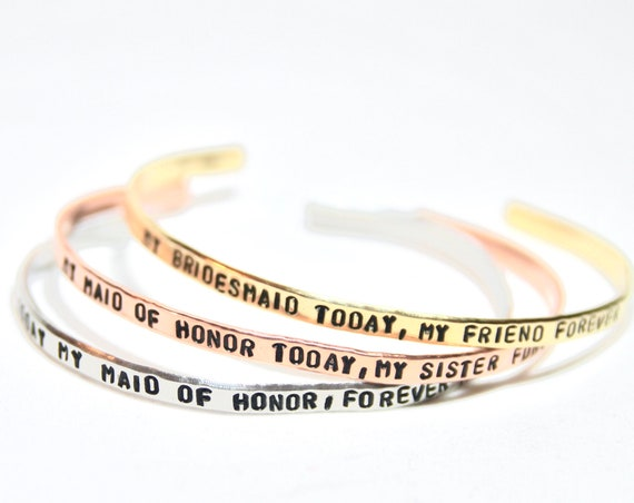 MOH Proposal | Be My Maid of Honor | Be My Bridesmaid | Sister Maid of Honor | Cute bridesmaid idea | MOH Bracelet | Today maid of honor