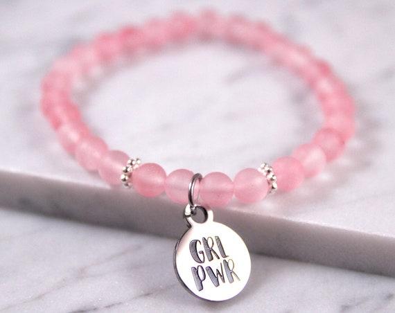 GRL PWR | Girl Power Bracelet | Girl Power | Girl Gang | Feminist Gift | Feminist | Bridesmaid Thank You | Matching Best Friends | Besties
