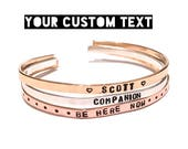 Custom Skinny Cuff Your Own Text Custom Bracelet Customized Cuff Personalized Bracelet for Women Coordinate Bracelet Thin Bangle