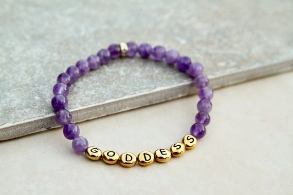 Goddess Bracelet | Nevertheless She Persisted Bracelet | Bestie Jewelry | Lesbian girlfriend | Strong is Beautiful | Feminist Gift |