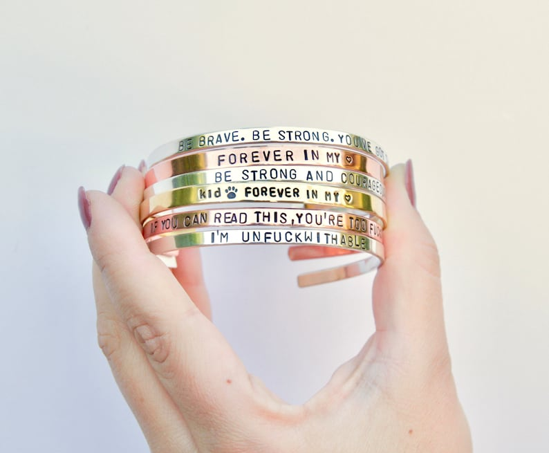 I love you You/'re my person Relationship gift Cute wife gift I love you more Valentines day gift Personalized Bracelet for Women