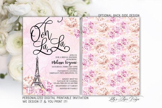 Paris bridal shower invitation eiffel tower bridal shower etsy image 0 filmwisefo