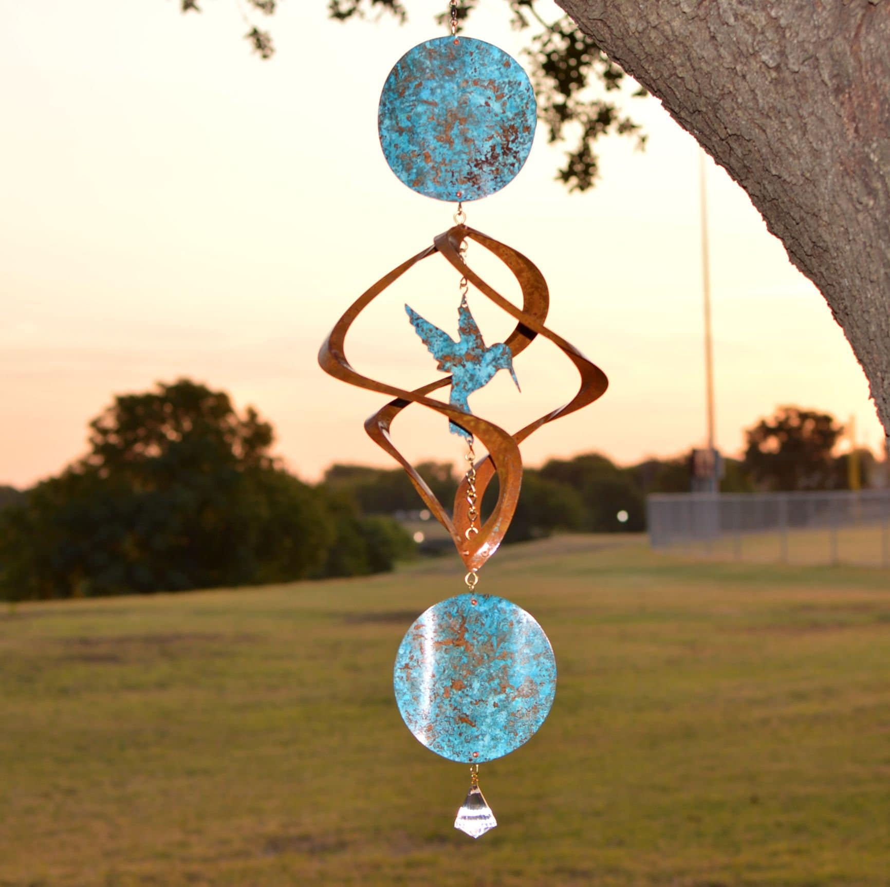 Zodiac Hummingbird More Options Garden Gift-Wind | Etsy