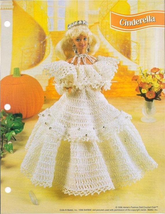 Ganchillo Barbie Fashion Doll patrón vestido de | Etsy