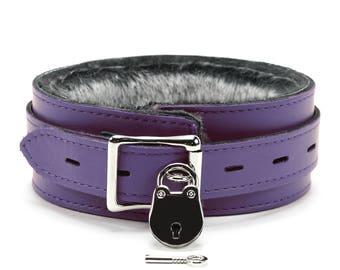 Locking slave collar, slave collar, submissive collar, locking collar, bondage restraints, adult toys, bdsm collar