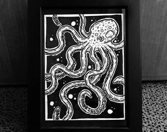Squiggly Ocean Creature