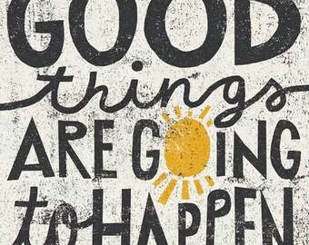 Inspire 16a/b/c/d: Good things are going to happen!