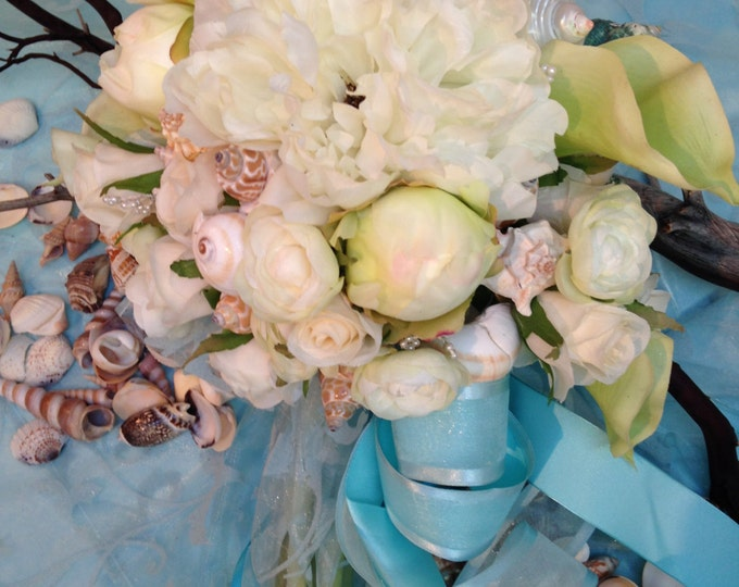 A Beach Wedding - The Bride's Bouquet