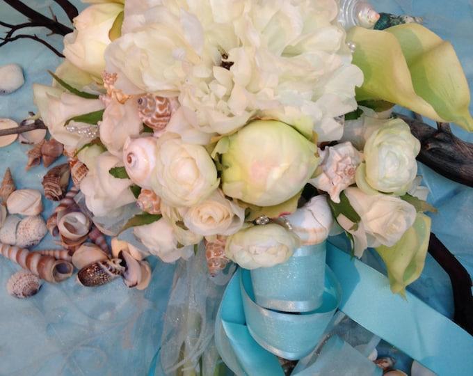 A Beach Wedding - The Bride's Bouquet