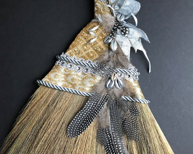 Jeweled African Wedding Broom