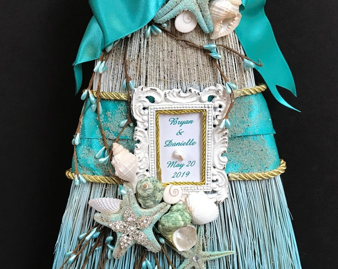 Starfish Inspired Beautiful Wedding Broom