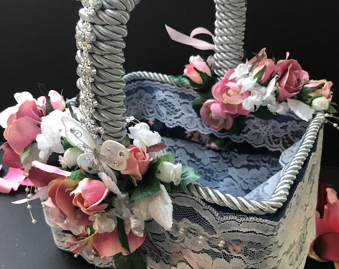 WEDDING FLOWER BASKET 2
