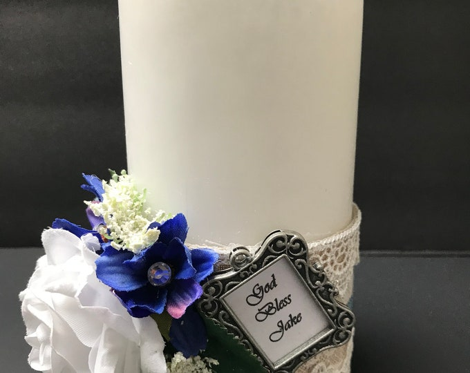 CHRISTENING CANDLE