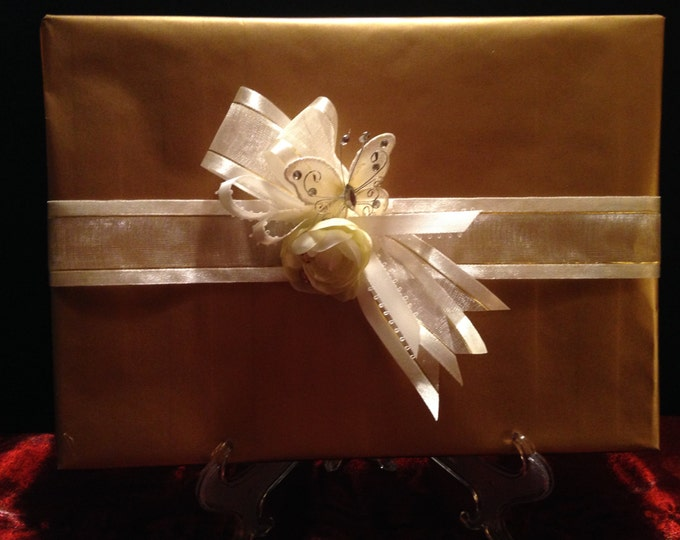 Giftwrap Design for a Wedding, Birthday, Anniversary, or Quinceanera