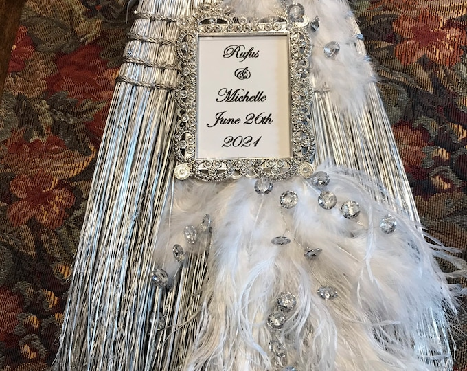 20s Era Wedding Broom