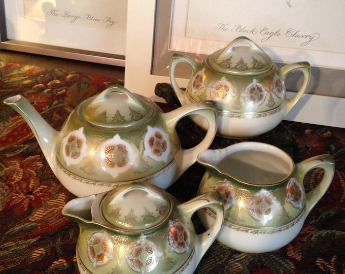 Vintage German RS Tea Set