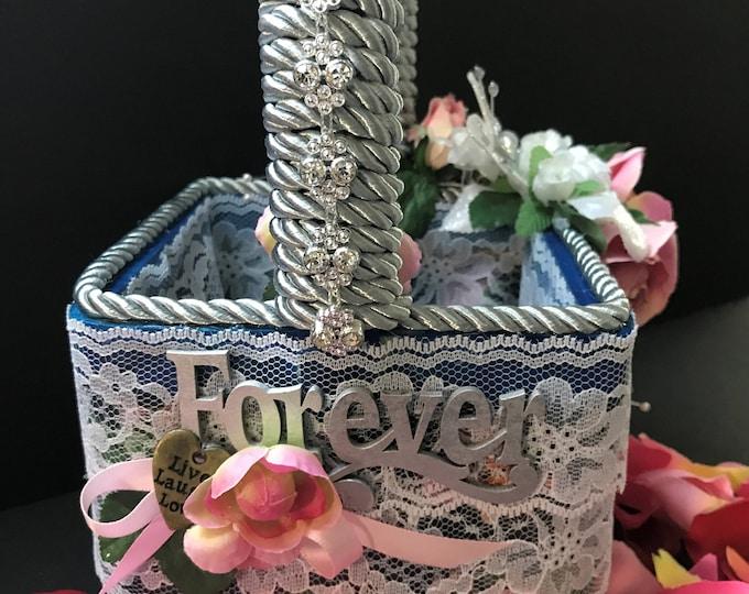 Wedding Flower Basket 1