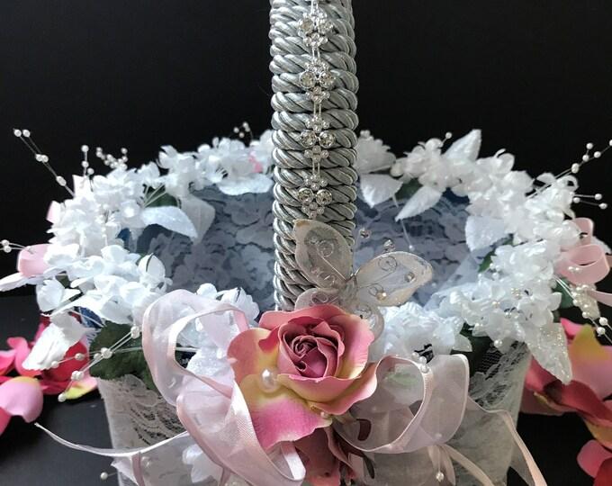 WEDDING FLOWER BASKETS 3