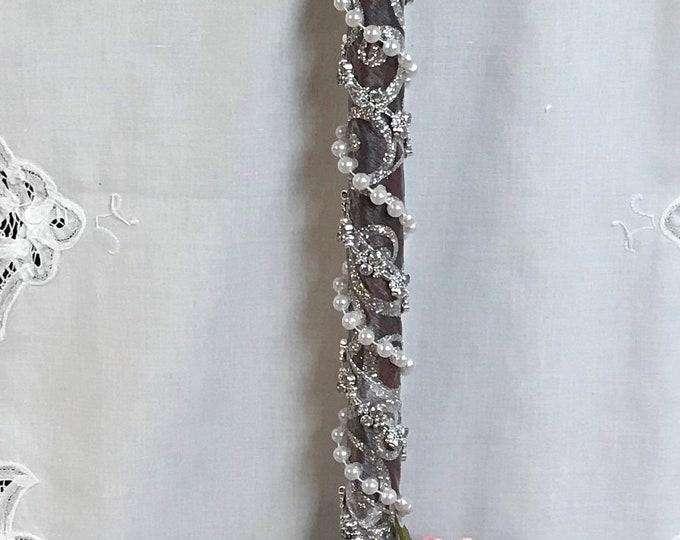Perfect Peony and Rose Wedding Broom