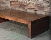 Mid Century Patrician Wood Extendable Coffee Table