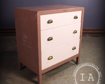 vintage metal dresser hospital furniture 5. Vintage Mid Century Modern Simmons 3 Drawer Metal Dresser Norman Bel Geddes Vintage Metal Dresser Hospital Furniture 5