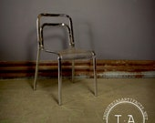 Mid Century Chrome Cafe Chairs