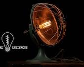 Antique Industrial Copper Heater Lamp