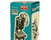 NOS Vintage AHI Erector Set Model Machine Shop Power Press