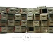 Antique Folk Art Folding Storage Box