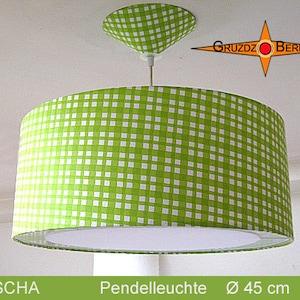 Vintage lamp LUISA \u00d845 cm with light edge diffuser