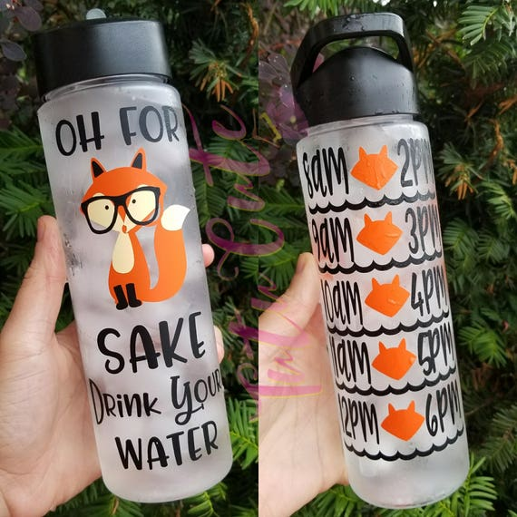 Image result for for fox sake drink your water