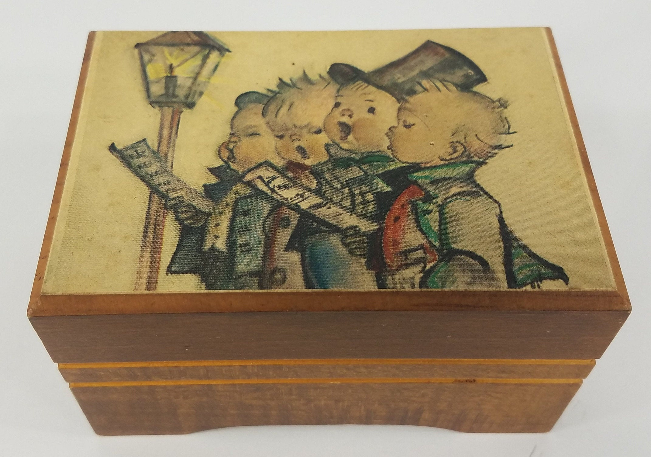 Reuge Hummel Musical Jewelry Box