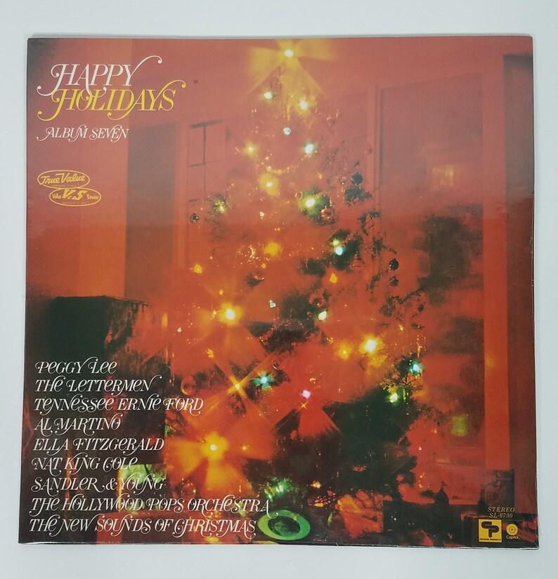 Nip Happy Holidays Album 7 Christmas Music Collaboration Album Vinyl Record Sealed