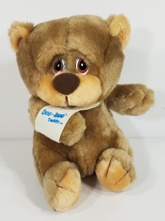 Applause Boo Boo Bunch Brown Sad Injured 8 Inch Plush Stuffed Etsy