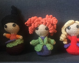 Free crochet amigurumi Witch pattern