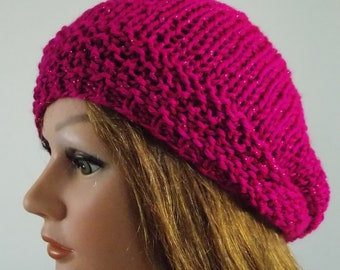 4e590b6fda8 UNISEX BERET PATTERN. Knitting Pattern Only . Intermediate Skill Required .  Unlimited Live Chat Help . 1 size fits most . Exclusive.