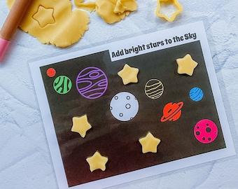 Playdoh-Mats Bible Themed homemade Play-doh Playdough Mats Play-dough activities Sensory Play