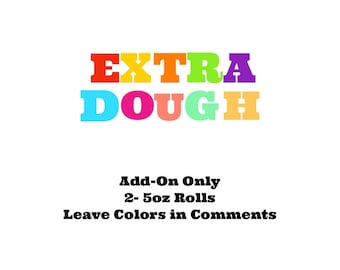Play-Doh Add-On Extra 2-5 oz rolls choose your colors