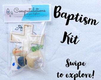 Baptism Gift, Playdoh Kit, Water-beads, Playdoh Mat, Bible Craft, Baptism Keepsake, sensory play, Christian children gift, Confirmation,