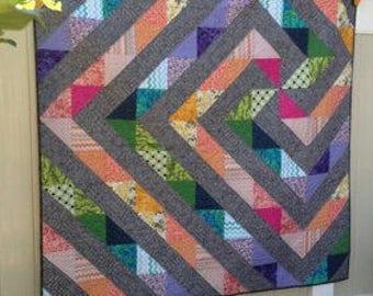 GeoSpirit, Modern geometric quilt
