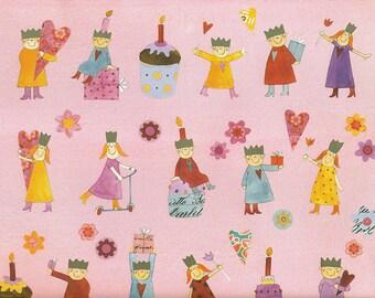 Children's birthday-gift wrapping paper Aurélie Blanz