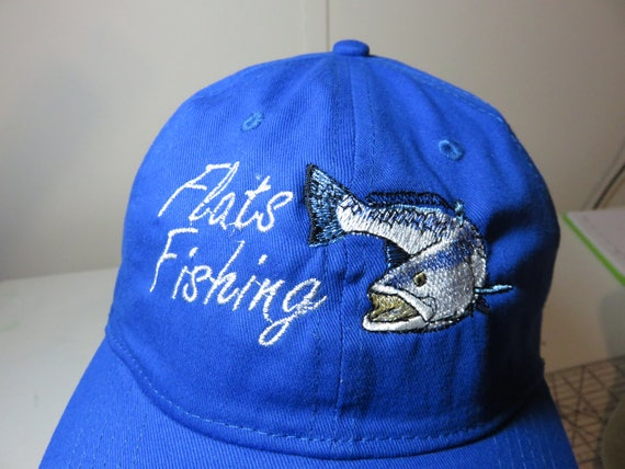 ffe066e5ce97d Flats Fishing hat with Speckled Trout Sea Trout Dad Hat