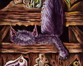 Dark Violet Witch